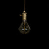 diamond edison light bulb gift love modern lighting