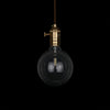 industrial modern led edison globe hanging lamp