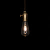 vintage industrial  led edison bulb hanging lamp