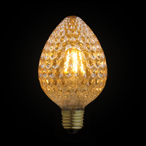 strawberry led edison light bulb decoration home interior design