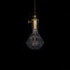 vintage modern led diamond edison hanging lamp