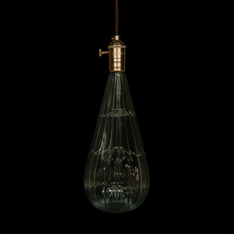 large globe led ediosn light bulb hanging lamp