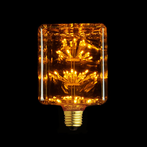 Crystal Cube LED Light Bulb