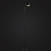 modern industrial black floor lamp