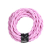pink twisted cord flex cable edison cord lamp