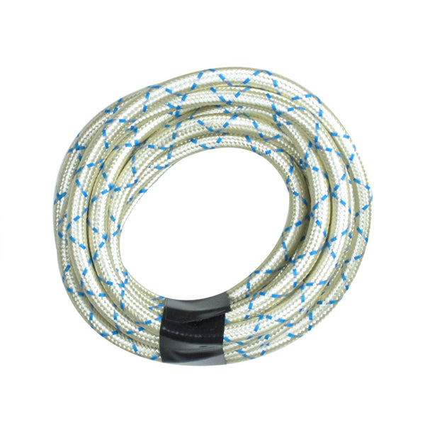 Spider White Round Cloth Lighting Flex Cables Drop lighting fixture
