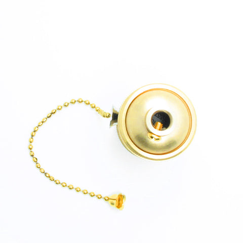 Brass Copper Lamp Holder Zipper Switch