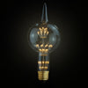 vintage LED filament Edison light bulbs