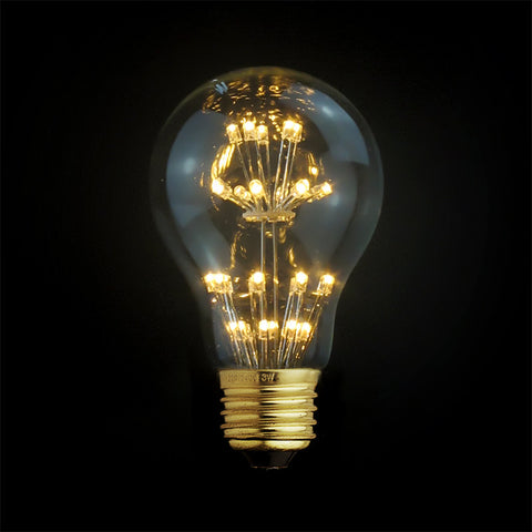 vintage globe led edison light bulb fixture