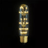 led long tubular edison bulb ceiling light fixture