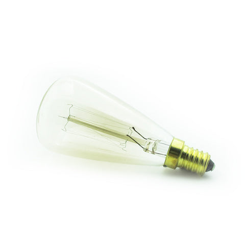 retro industrial E14 edison dimmable light bulb