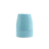 Blue E27 Porcelain lamp holder edison lamp fixture