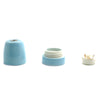 Blue E27 Porcelain lamp socket Bespoke lampshades