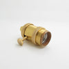 E27 industrial brass lamp holder screw