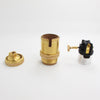 E27 Copper Socket for Pendant Light
