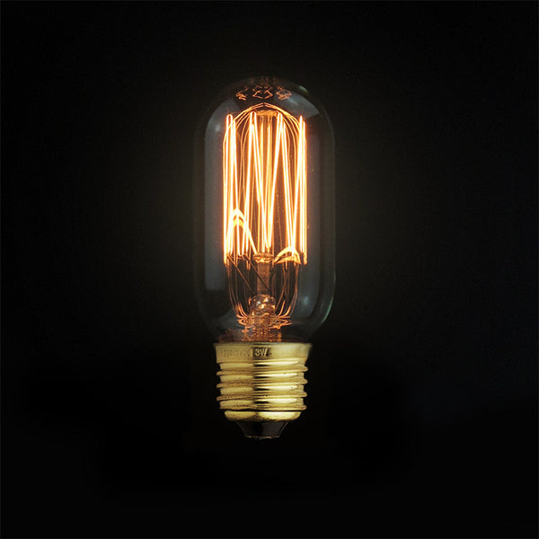 dimmable edison filament light bulb home decor