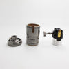 black E26 E27 Copper Socket for Pendant Light