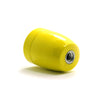 yellow Ceramics Bulb socket, Mounted lamp fitting