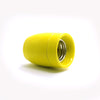 yellow Ceramic lamp socket fixture Edison cluster lamp