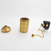vintage E27 Copper Socket for Pendant Light