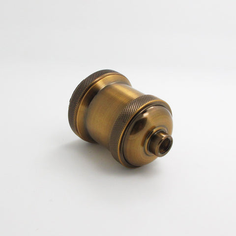 industrial brass edison bulb holder fixture