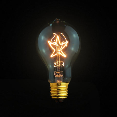 vintage edison filament light bulb dimmable