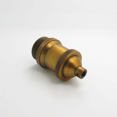 E27 industrial copper light holder ceiling lamp fitting