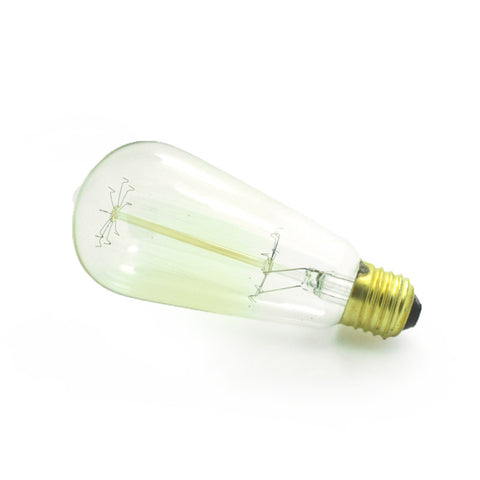 retro 60 watt dimmable edison bulb lamp