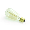 edison filament teardrop light bulb E27  dimmable