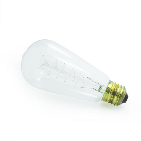 dimmable vintage style edison incandescant light bulb