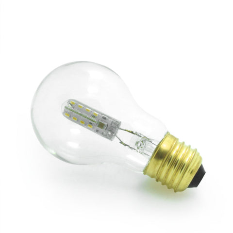 vintage industrial small globe LED edison bulb