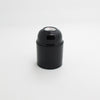 E27 basic Bakelite black lamp holder