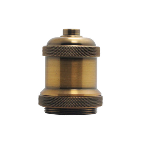 vintage Brass Copper lamp Holder screw