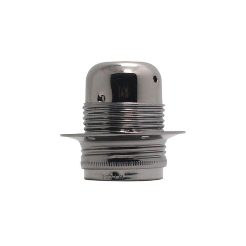 E27 black sockets bulb fittings electrical socket