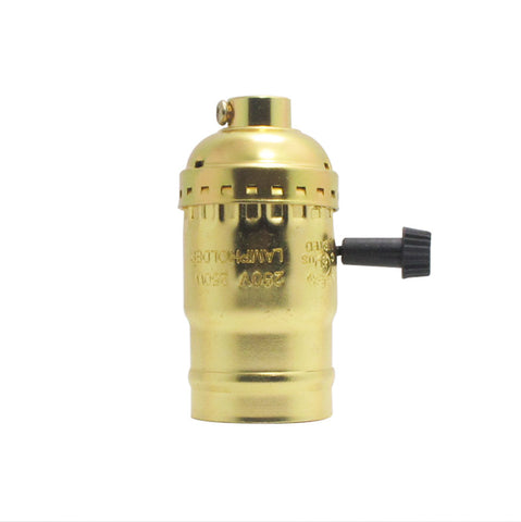E27 Aluminum Socket for Pendant Light