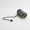 vintage black Bulb Holder Zipper Switch