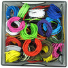 vintage coloured cord flex cables lighting