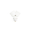 loft style white E27 lamp holder