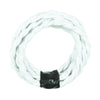 white twisted cord wires lighting accessories