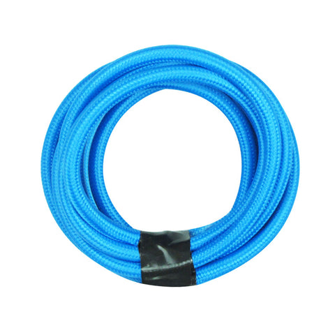 blue extension cord, pendant cord kit