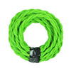 modern green twisted cable cover, edison lamp cord