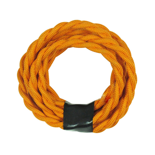 orange fabric cord wire, chandelier lamp fixture
