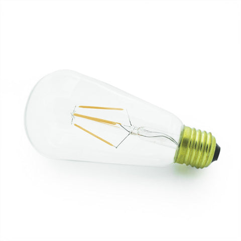 industrial E27 led edison light bulb fixtures