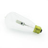 E27 clear glass LED edison bulb fixture