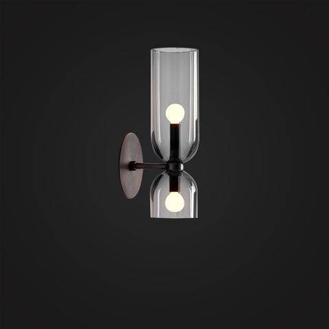 Hakim Wall Glass Sconces