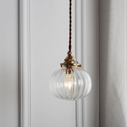Zoe Glass Lamp