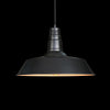 black vintage industrial pendant lamp living room