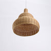 special shape bamboo and wood lamp home interior design