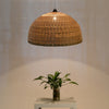 large bamboo and wood pendant lamp home decor