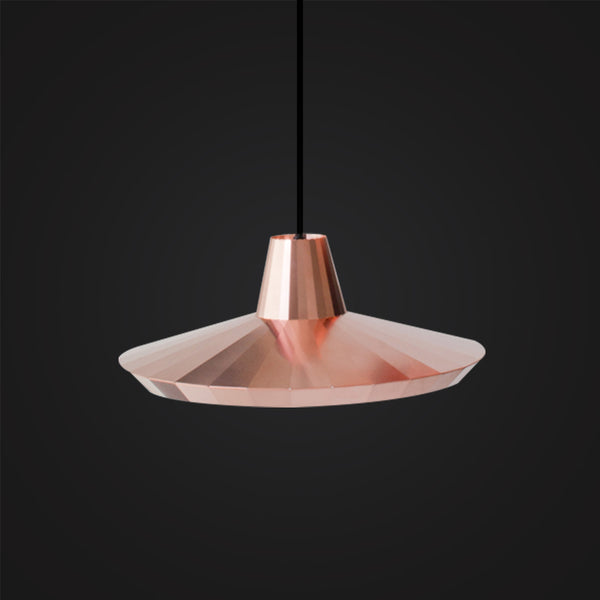modern polished rose gold ceiling light for home decor